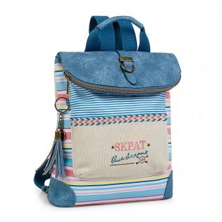 SKPAT Lässiges Rucksack Für Damen Handtasche Backpack Rucksäcke 302560