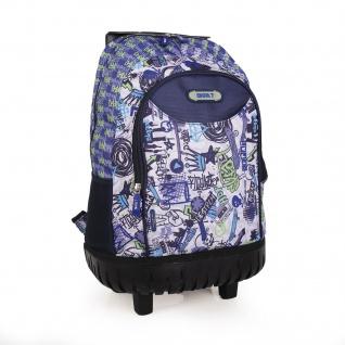 SKPAT Schulrucksack Mit Räder Backpack Rucksack Für Kinder 55305