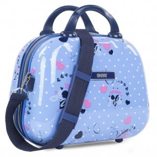 Große Reisetasche Für Kinder Mit Polycarbonatdruck. Toilettentasche. Bequem, Widerstandsfähig Und Leicht.