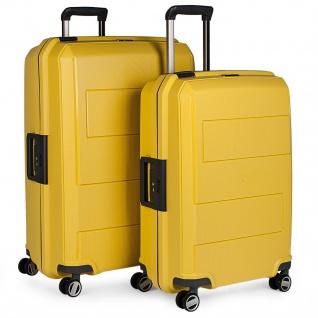 Starrer Koffer Set. 4 Räder. Polypropylen. 2 Größen: Medium Und Large. Bequem Und Leicht. Diebstahlsicherer, Luftdichter Verschluss. TSA-Vorhängeschloss. Qualität. 161100