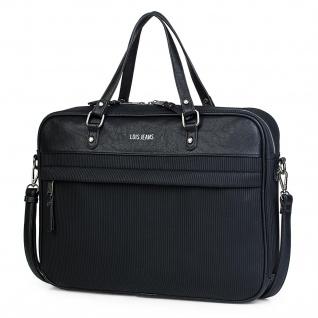 Lois Aktentasche 15 Für Damen Schultertasche Handtasche Umhängetasche Messenger Bag Laptoptasche 303738