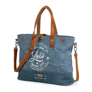 Lois Handtasche Für Damen Shopping Bag Tote + Schultertasche Einkauftasche 15 Für Laptop 303040