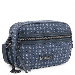 Damentasche Mit Verstellbarem Schulterriemen. Bedrucktes Futter Und Innentasche. Außentaschen Mit Reißverschluss. Kunstleder Und Leinwand 306683