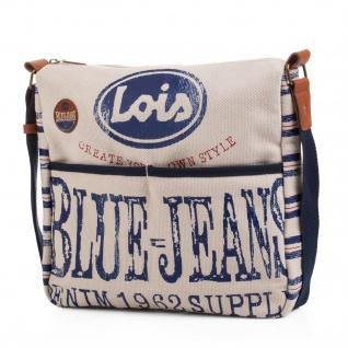 Lois Schultertasche Für Damen Umhängetasche Großräumig Tasche Sommertasche 91202