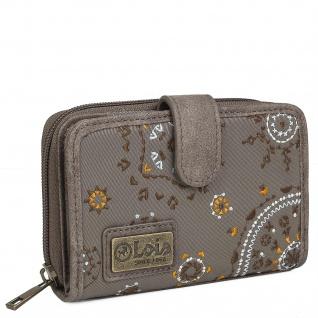 Brieftasche Für Frauen Bestickte Mit Kartenhalter Mit Mandala-Motiven. Canvas Und PU-Leder Für Den Täglichen Gebrauch Mit Reißverschluss RFID PROTECTION. 304414