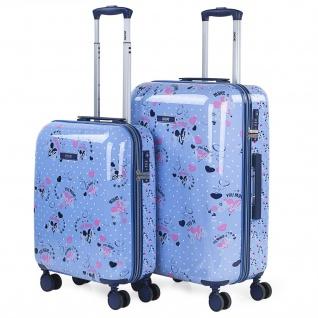 Satz Mit Zwei Starren Kindergepäckstücken. Größe 50/60Cm. Hergestellt Aus Polycarbonat, Einem Leichten Und Widerstandsfähigen Material TSA