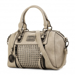 Lois Handtasche Für Damen Bowling Bag Schultertasche Lässiges Design Praktisch Und Geräumig 93131