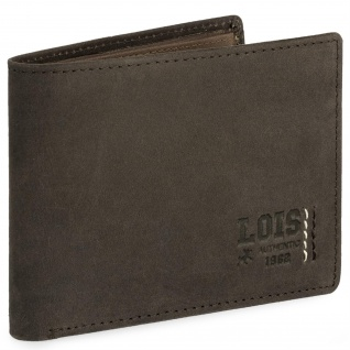 Leder-Geldbörse Für Mann. Fächer Für Münzen, Karten Und Banknoten. Geschenk-Box. RFID PROTECTION 202801