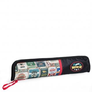 Steppflötenkoffer Für Kinder. Mit Handgriff Und Reißverschluss. Bedrucktes Polyester. Exklusives Design.