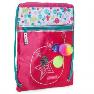 Abgestempelter Rucksack. Tasche Mit Henkeln. Multifunktionale Gymsack. Sammelt Sich Die Schließung.
