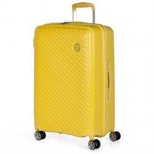 Itaca Mittlerer Hartsschale Reisekoffer Aus Polypropylen 55 Cm. 4 Rollen. Reisegepäck. Koffer. TSA Hängeschloss. 760060