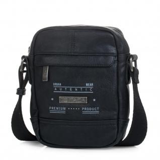 Itaca Klein Schultertasche Für Herren. Umhängetasche. Reisebrieftasche. Kuriertasche. Messenger Tasche. Cross-Body Bag. Kunstleder. T26019