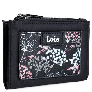 Lois Portmonnaie Für Damen Geldbeutel Brieftasche Geldtasche RFID-Schutz 304021