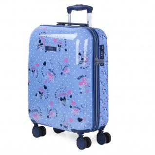 Kinderkabinen-Koffer. 4 Doppelräder. Polycarbonat Polka Dots. Handgepäck. Starr Und Leicht. TSA-Vorhängeschloss.