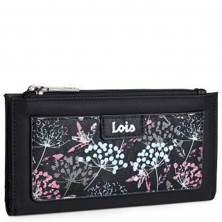 Lois Portmonnaie Für Damen Geldbeutel Brieftasche Geldtasche RFID-Schutz 304029