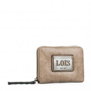 Lois Portmonaie Für Damen Kartenhalter Geldtasche Münzbörse 92726