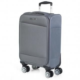 JASLEN Kabinereisenkoffer 54 Cm EVA-Polyester 4 Rollen Kabinengepäck Handgepäck Robuster Bequem Und Leichter 701050