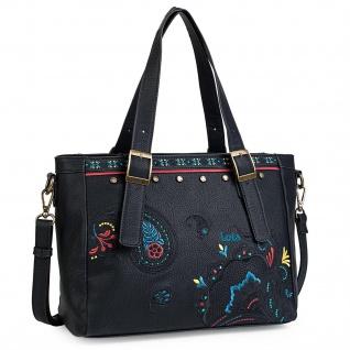 Lois Handtasche Für Damen Shopping Bag Schultertasche Einkauftasche 302681