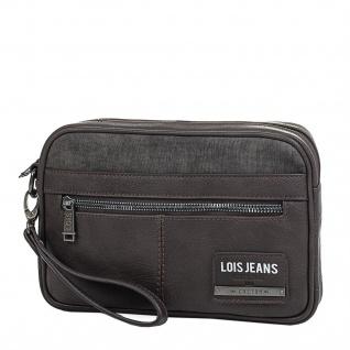 Lois Hand Brieftasche Für Herren Dokumentenhalter Handgriff Herrentasche Handgelenktasche 96585