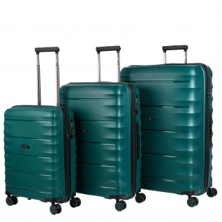 JASLEN Set 3 Trolley-Koffer 50/60/70 Cm Koferset Reisekoffer 161000