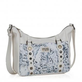 Lois Schultertasche Für Damen Kunstleder PU Tasche Unhängetasche Hobo Bag 27356