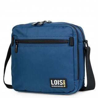 Lois Umhängetasche Für Herren. Messenger Shultertasche. Reißverschluss Tasche. Kuriertasche. Nylon. 305420