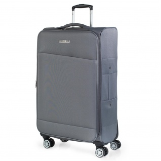 JASLEN Großer XL Reisekoffer 78Cm EVA-Polyester. Erweiterungsfähig 4 Rollen Extrem Geräumig 101070