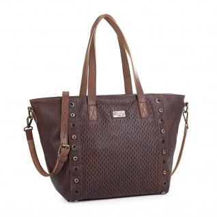 Lois Handtasche Für Damen Shopping Hobo Bag Henkeltasche Elegant Schultertasche 9638 - Vorschau 1
