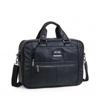 Lois Aktentasche Unisex Laptop 15 Handtasche Messenger Bag Arbeitstasche Businesstasche 96540 - Vorschau 1