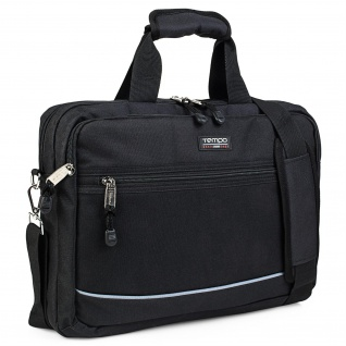 Tempo Aktentasche Für Herren. Handtasche. Messenger Bag. Laptop 15. Arbeitstasche. Lässiges Design. Praktisch. Businesstasche. 801040 - Vorschau 1