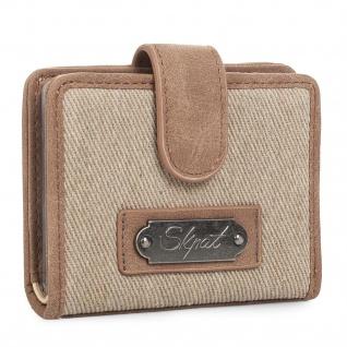 SKPAT Kartentasche Für Damen Geldbörse 10 Fächer Für Karten Und Dokumentation Geldtasche 92903