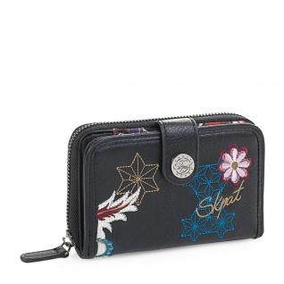 SKPAT Portmonnaie Gestickt Für Damen Geldbeutel Brieftasche Geldtasche Kartenhalter 95514 - Vorschau 1
