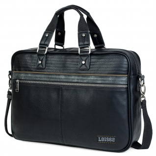 Lois Aktentasche Für Herren. Handtasche. Messenger Bar. Laptop 15. Arbeitstasche. Praktisch. Businesstasche. 305340 - Vorschau 1