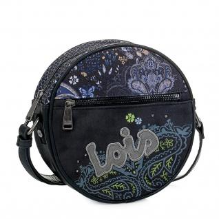 Lois Kreistasche Schultertasche Für Damen Mini Bag Abendtasche Umhängetasche 96184