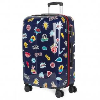 Kinderkoffer 4 Rollen Bedrucktes Polycarbonat Robuster Praktisch Und Leichter Koffer 702260