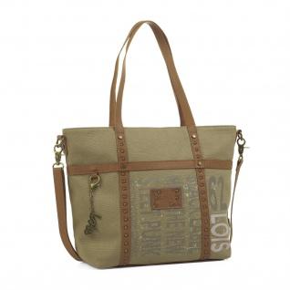 Lois Henkeltasche Für Damen Shopping Bag Tote + Schultertasche Einkauftasche Geräumig 91732
