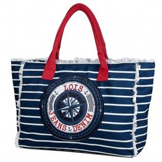 Lois Strandtasche Einkauftasche Badetasche Shopper 601005