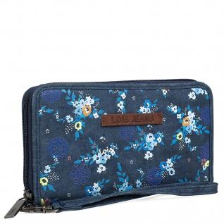 Lois Portmonnaie Für Damen Geldbeutel Brieftasche Geldtasche RFID-Schutz 304302