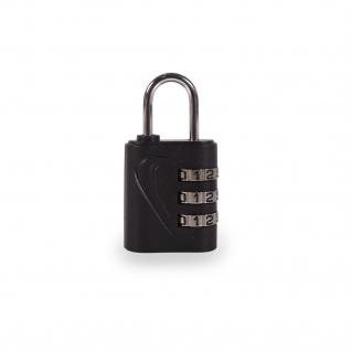 3-Tasten-Zahlenschloss Ohne Schlüssel. Mehrfach Verwendbar: Für Koffer, Schließfächer, Werkzeug, Gepäck, Schule. Zinklegierung Und ABS. 00102