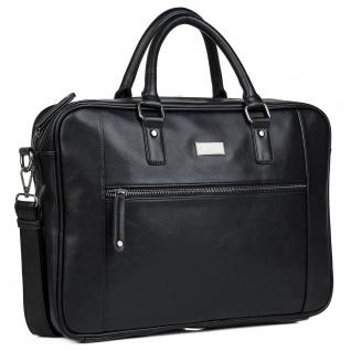 JASLEN Aktentasche Für Herren. Handtasche. Messenger Bar. Laptop 15. Arbeitstasche. Lässiges Design. Praktisch. Businesstasche. 305640