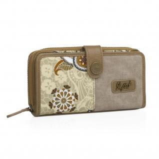 SKPAT Portmonnaie Für Damen Geldbeutel Brieftasche Geldtasche 92118