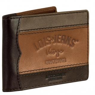 Leder-Geldbörse Für Mann. Fächer Für Münzen, Karten Und Banknoten. RFID PROTECTION. 203201