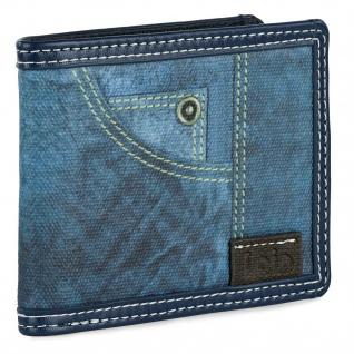 Brieftasche Für Den Mann. Geldbörse, Karte Und Banknoten Fächer. RFID-SCHUTZ. 203604