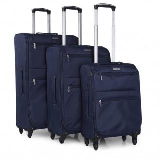 Itaca 3Er Kofferset Erweiterbar 55/68/77 Cm EVA-Polyester. 4 Rollen. Reisekoffer. Kleine Koffer Genehmigt Für Ryanair, Mittlere Und Große. I52700