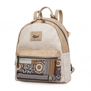 SKPAT Rucksack Für Damen Handgriff Tragetasche Handtasche Backpack 95499