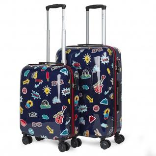 Itaca 2Er Hartschalen Kinder Kofferset Polycarbonat 4 Rollen Reisekoffer Handgepäck 702200