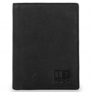 Herren Leder Brieftasche. Vertikal. Geldbeutel, Kartenfächer. Ausweisdokument, Banknoten Und Münzen. 37918
