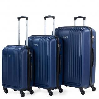 3Er Hartschalen Kofferset, Polypropylen. 4 Rollen. Praktisch, Bequem Und Leichter. Hängeschloss TSA. Kleine Koffer, Mittlere Und Große. Hochwertiger Und Markenzeichen. 760300