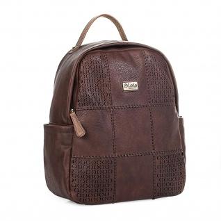 Lois Rucksack Damen Elegant Rucksäcke Backpack Handtasche Tragetasche 96299