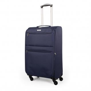 Itaca Großer XL Reiserkoffer 77Cm EVA-Polyester. Erweiterungsfähig. 4 Rollen. Extrem Geräumig. Reisegepäck. Koffer. I52770